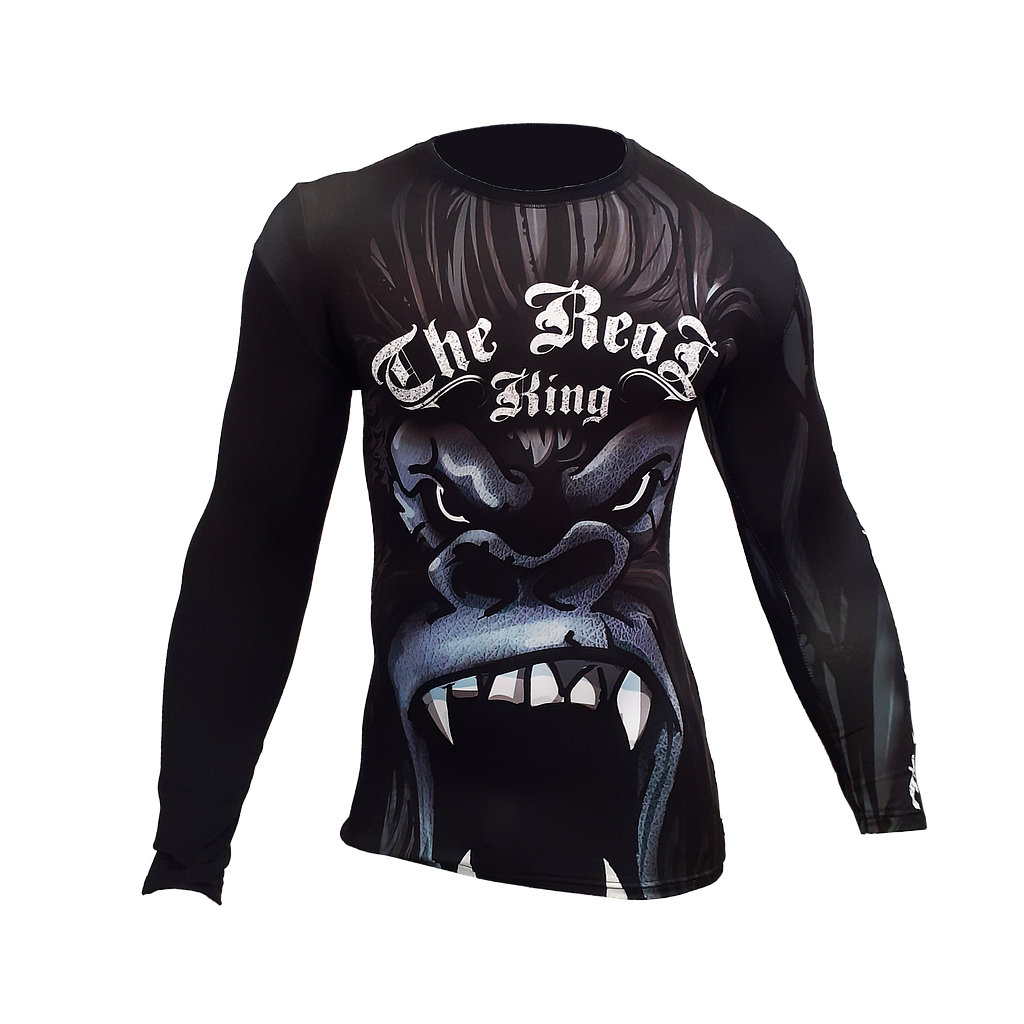 Rashguard S1 m/larga The Real King